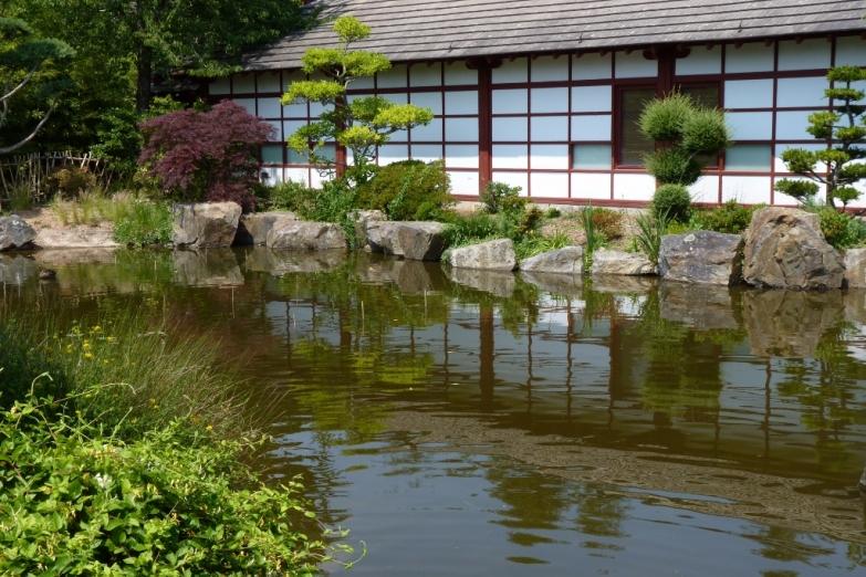 Японский сад в Нанте