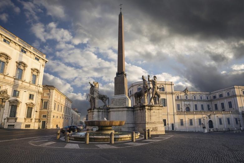 Квиринал - самый высокий холм Рима