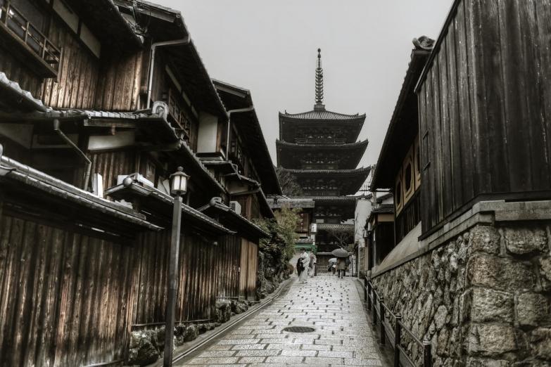 Храм Хоканджи в Киото