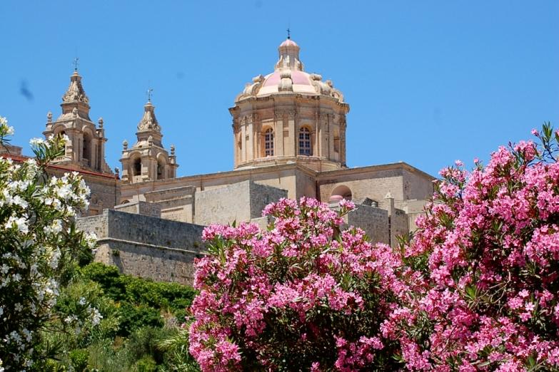 Собор Св. Павла в цветочном убранстве