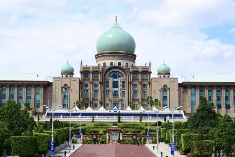 Мечеть Путра в Путраджайе