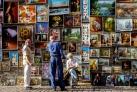 Выставка картин на Флорианской улице