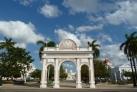Триумфальная арка в Парке Хосе Марти