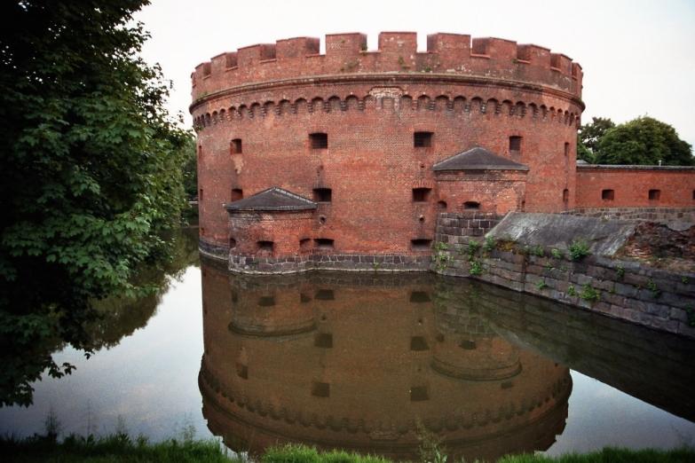 Фортификационное сооружение в Калининграде