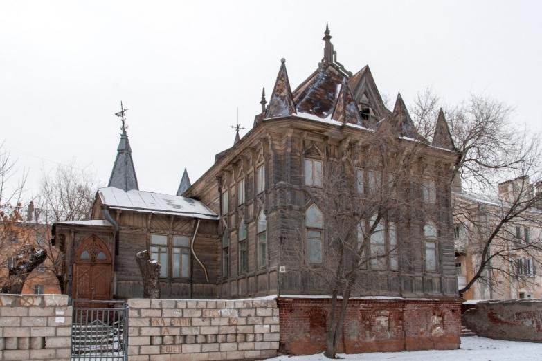 Старинная архитектура в Астрахани
