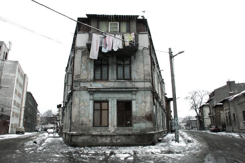 Старые дома на окраинах Бухареста