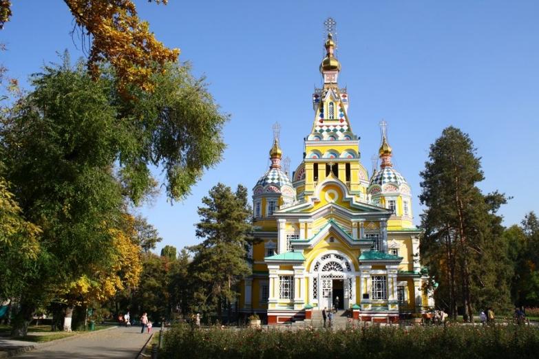 Вознесенский собор в Алма-Ате