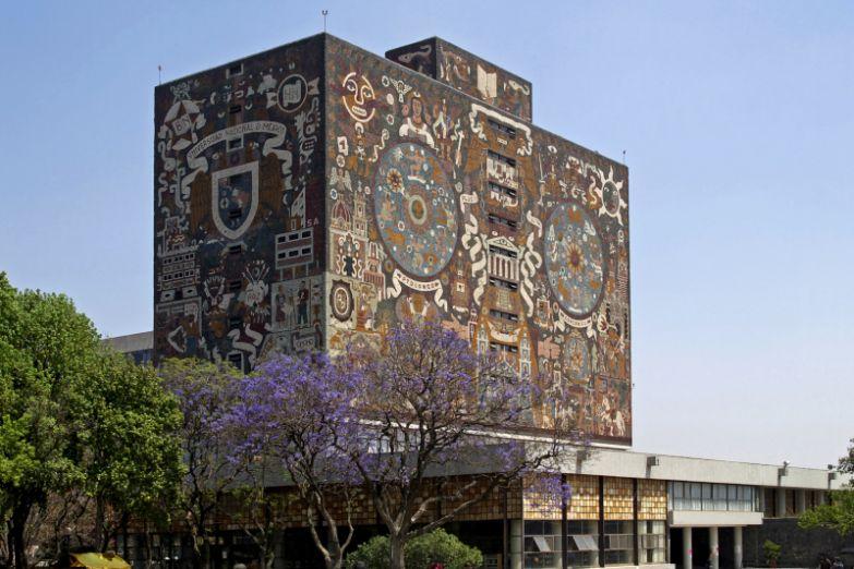Университетский городок в Мехико