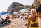 Пляж на мысе Фиолент
