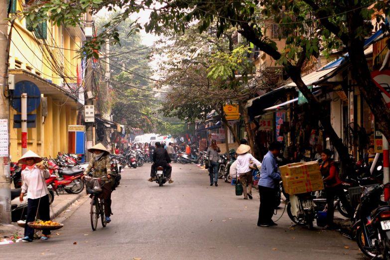 Улица в Ханое