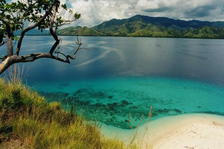 Лазурные воды тропической лагуны