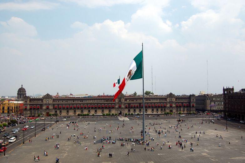 Площадь Сокало, Мехико