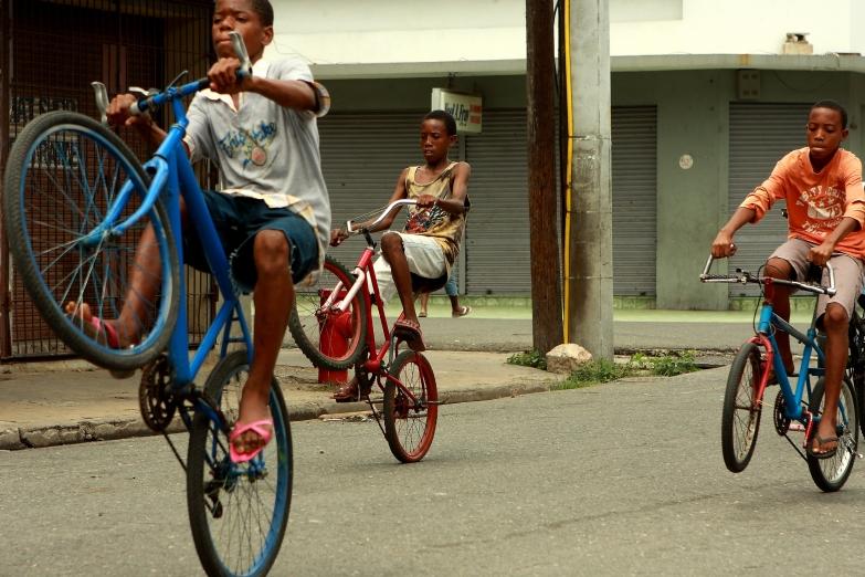 Юные ямайцы