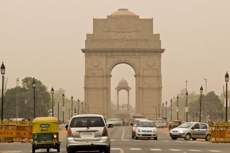Врата Индии в Дели