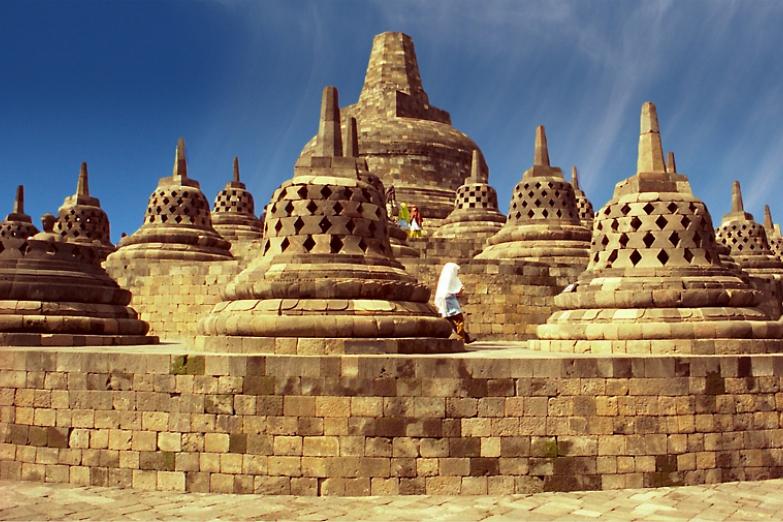 Ступы храма Боробудур