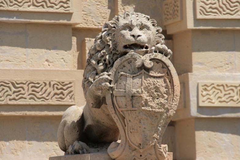 Венецианский лев - весточка от старых хозяев Мальты