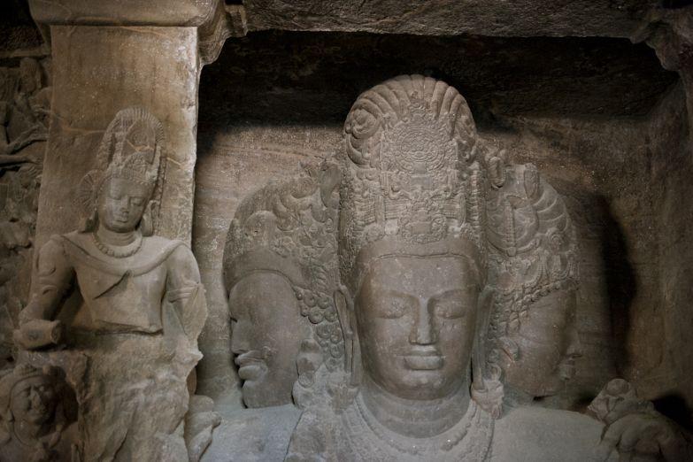 Пещерный храм на острове Элефанта