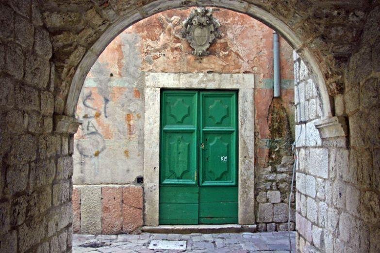 Улочки Старого города в Которе