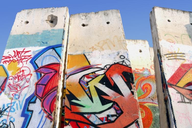 Графити на Берлинской стене