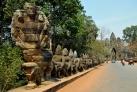 Дорога к Ангкор-Вату