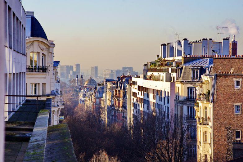Старые и новые дома Парижа