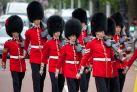 Королевские гвардейцы в Лондоне