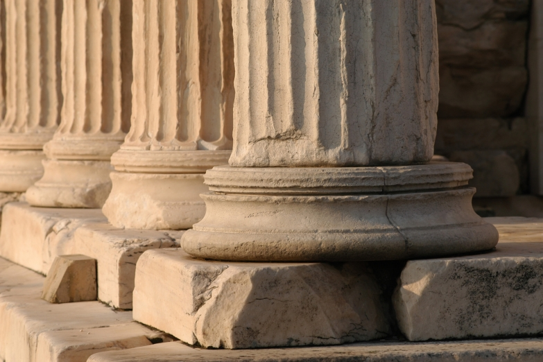 Руины Акрополя в Афинах