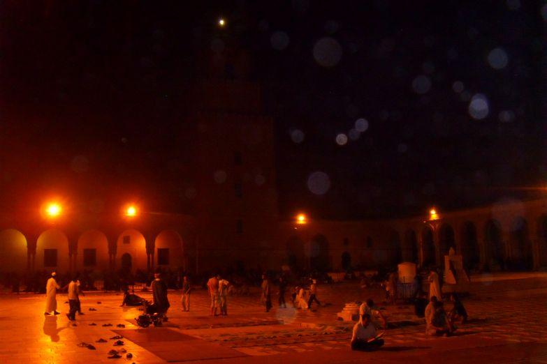 Мечеть Кайруана вечером