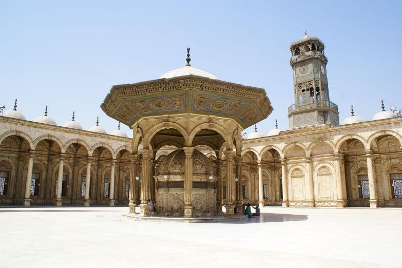 Внутренний двор мечети Мухаммеда Али