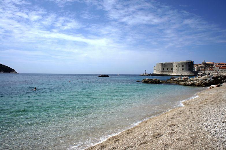 Пляж Дубровника