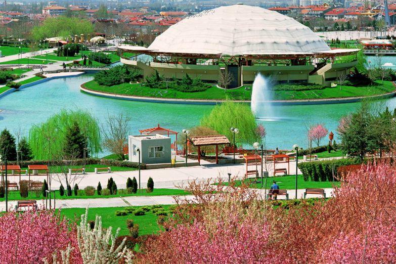Парк Altinpark в Анкаре