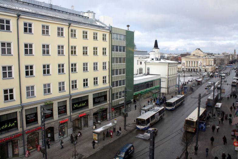 Центральная улица Тампере