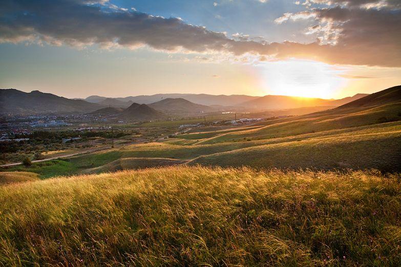 Типичный крымский пейзаж