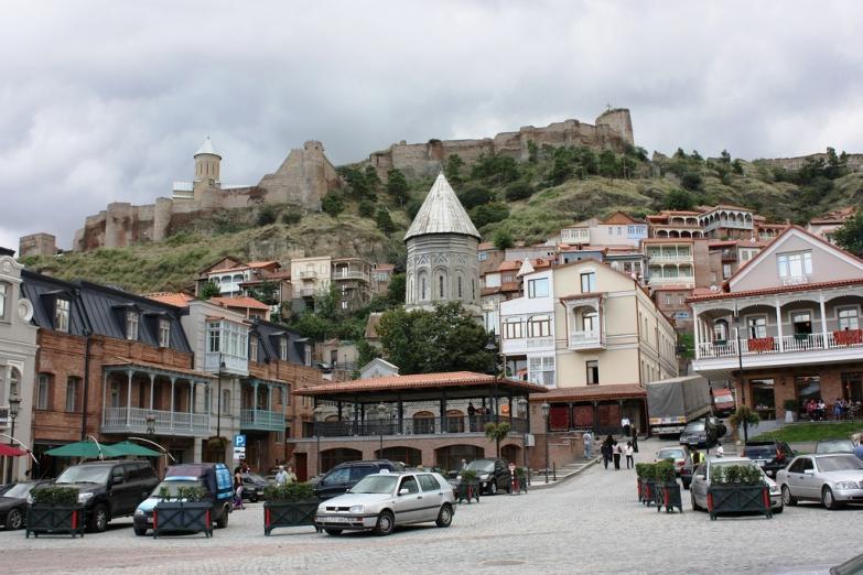 Старый район Тбилиси