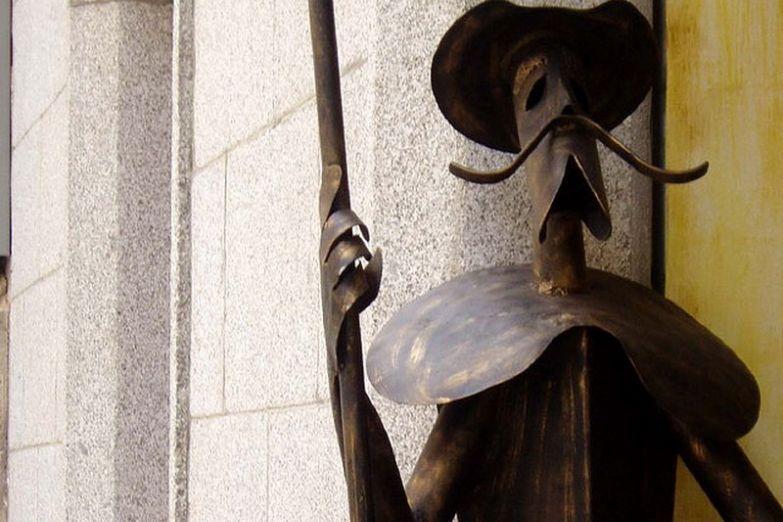 Дон Кихот - один из символов города