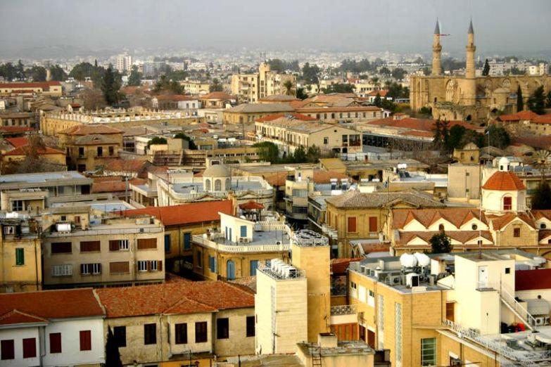 Вид на мечеть Селимийе