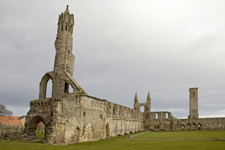 Развалины собора Святого Андрея