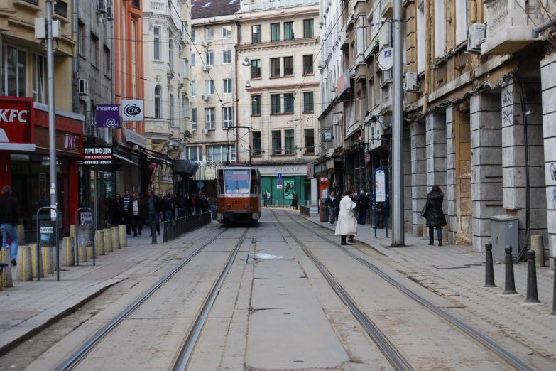 Улица в Софии