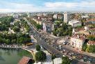 Вид на центр Софии