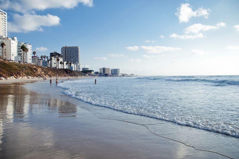 Пляж в Израиле