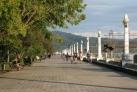 Городская набережная в Сухуме