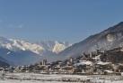 Зимние пейзажы Сванетии