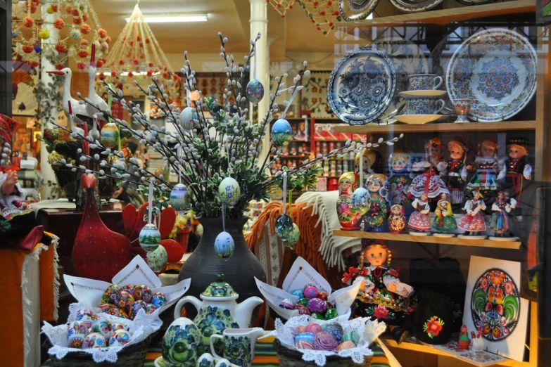 Сувенирный магазинчик в Лодзь