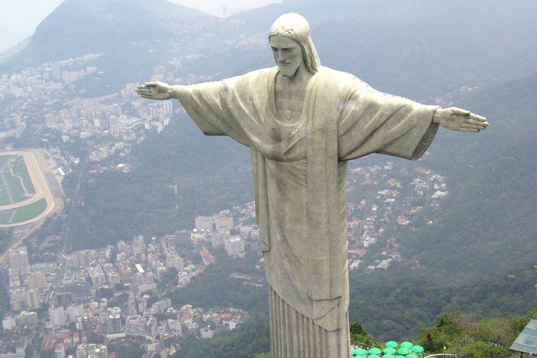 Статуя Христа в Рио-Де-Жанейро, Бразилия