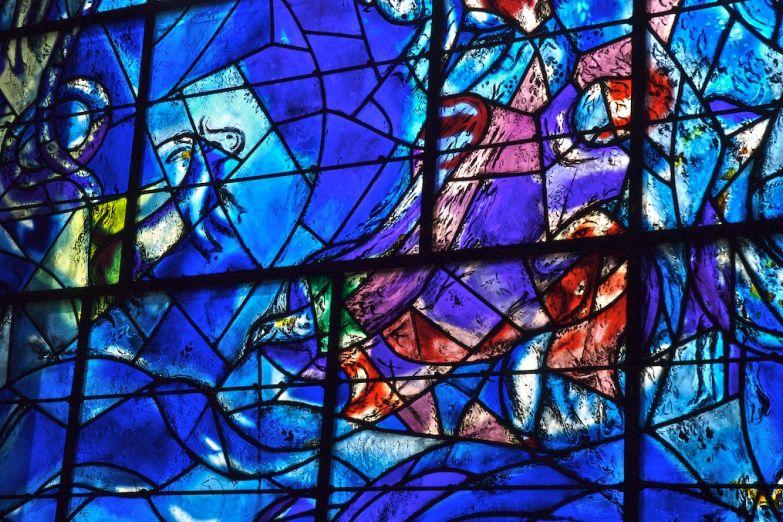 Витражи в музее Марка Шагала