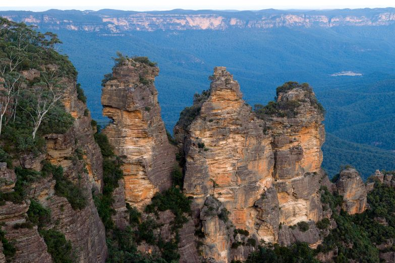 Голубые горы и парк дикой природы