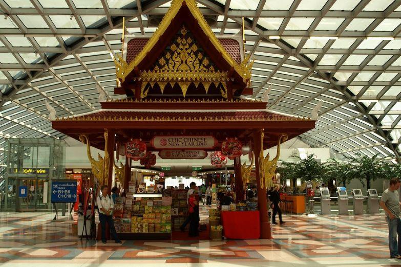 Аэропорт Суварнабхуми в Бангкоке