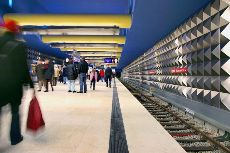 Станция Olympia Einkaufszentrum мюнхенского метро