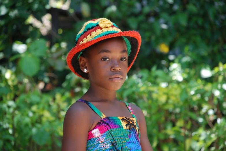 Ямайская девочка