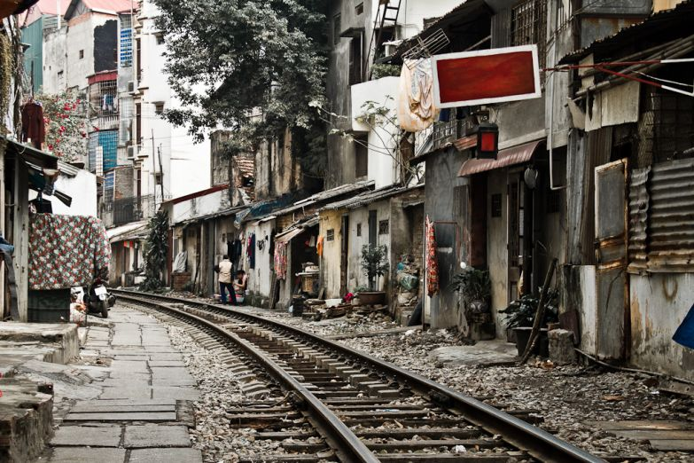 Городская улица в Ханое